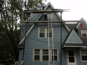 blue certainteed impressions vinyl cedar shake siding in nj