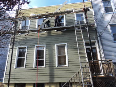 james hardie board fiber cement siding contractors in bergen county nj