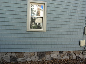 blue nailitie cedar shake siding shingles in new jersey
