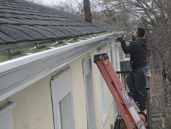 Removing Sagging Roof Overhang Passaic County