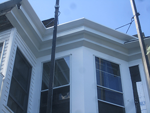 new jersey custom bent aluminum casing wrapping and fascia in nj