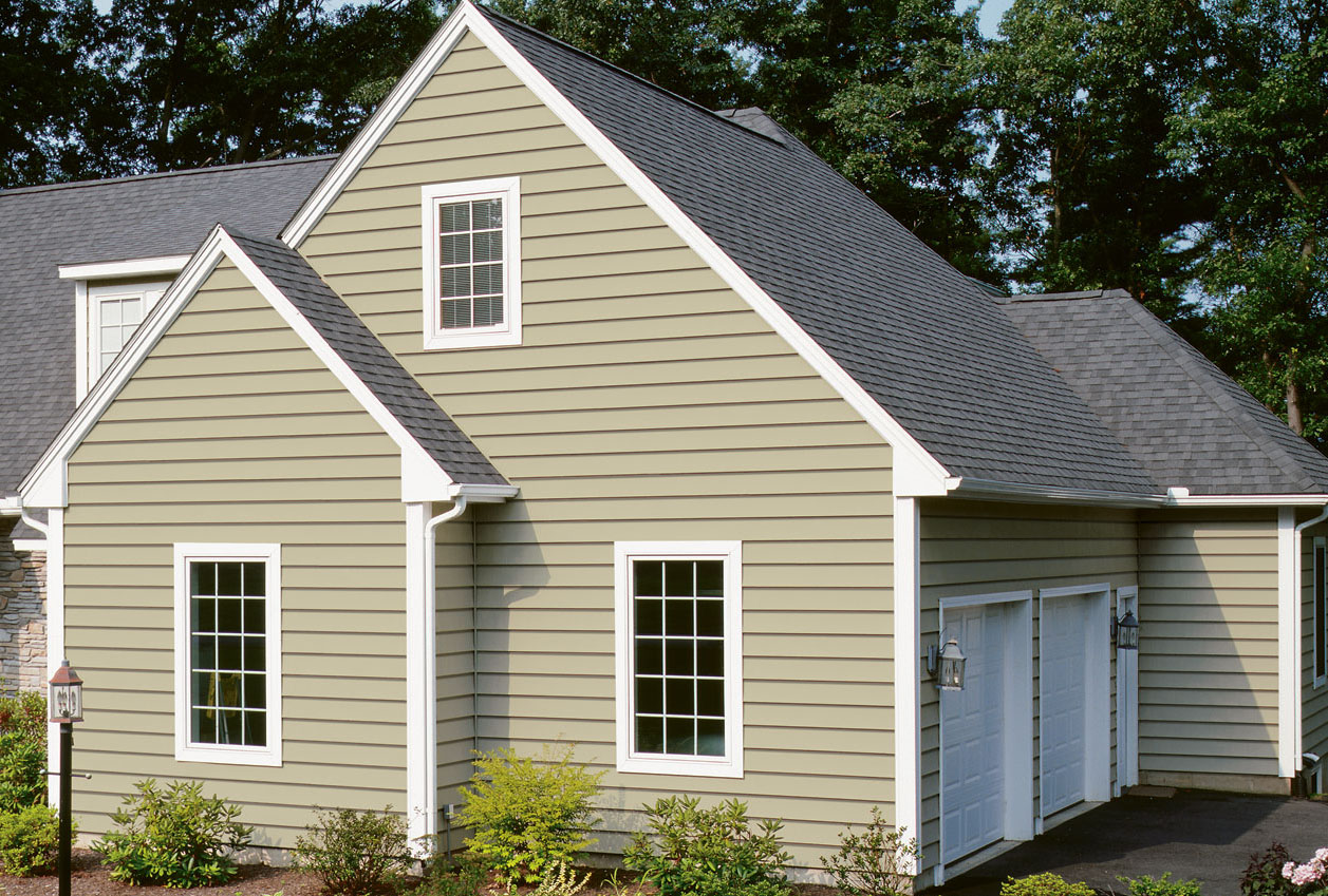 Maintenance free vinyl siding options for nj houses for Exterior siding that looks like wood